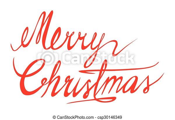 Merry Christmas - csp30146349