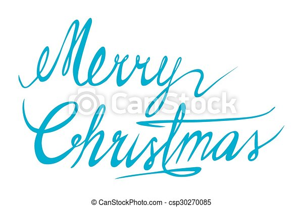 Merry Christmas - csp30270085