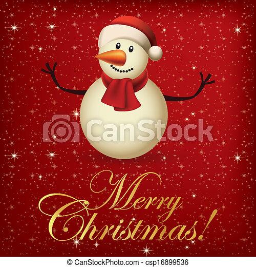 Merry Christmas - csp16899536