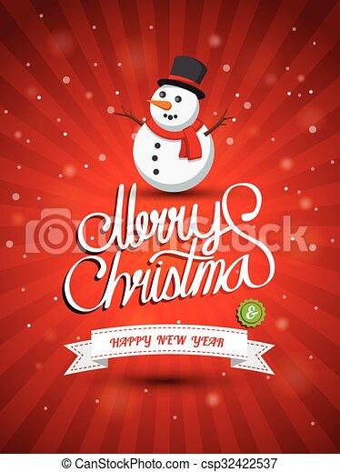 Merry Christmas  - csp32422537