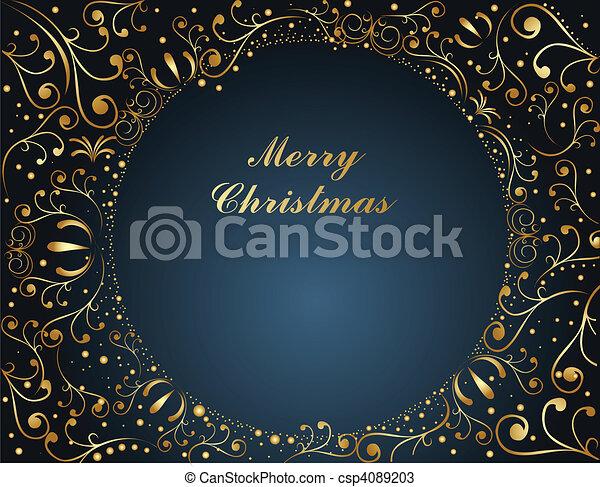 Merry Christmas - csp4089203