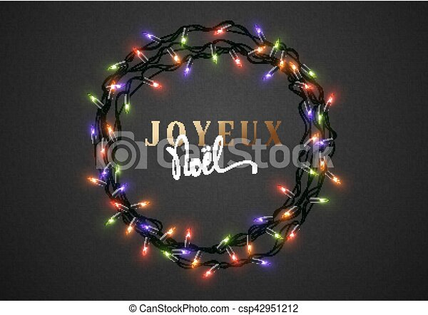 merry christmas french inscription joyeux noel csp42951212 - Merry Christmas French