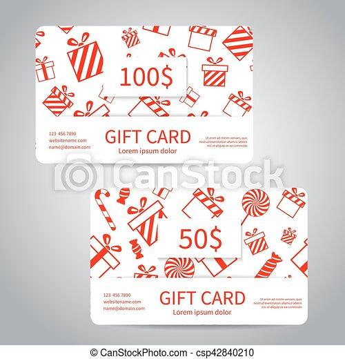 Merry Christmas Gift Card.Merry Christmas Gift Card