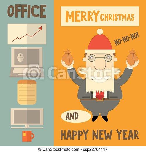 Merry Christmas Boss.Merry Christmas Greeting Card