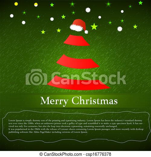 Merry Christmas - csp16776378