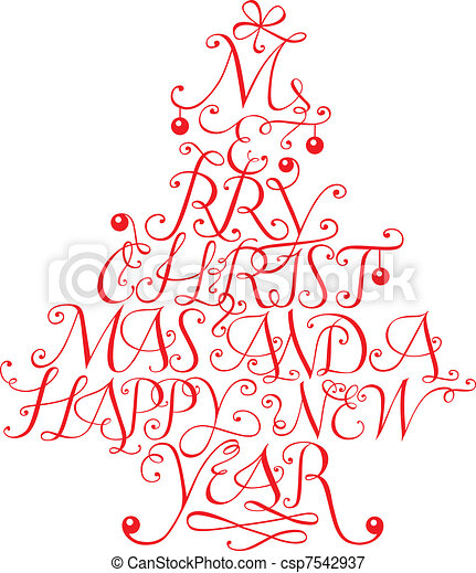 Merry christmas - csp7542937