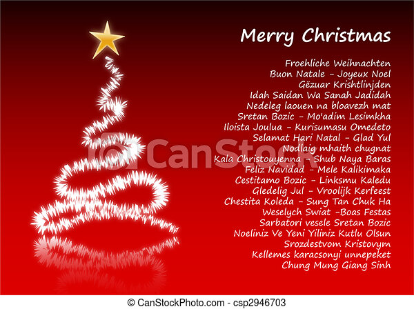 Merry Christmas In Different Languages.Merry Christmas In 31 Different Languages