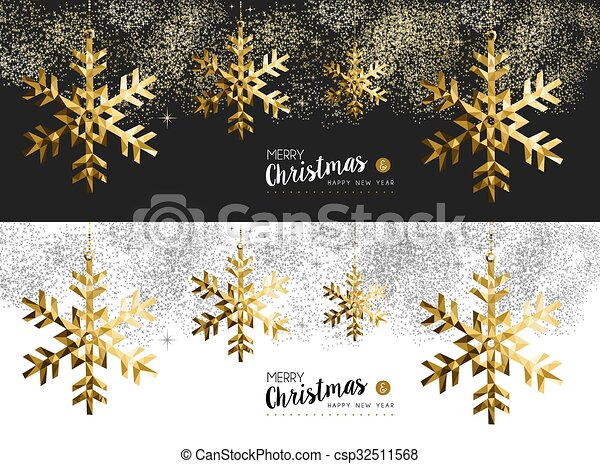 merry christmas new year banner csp32511568