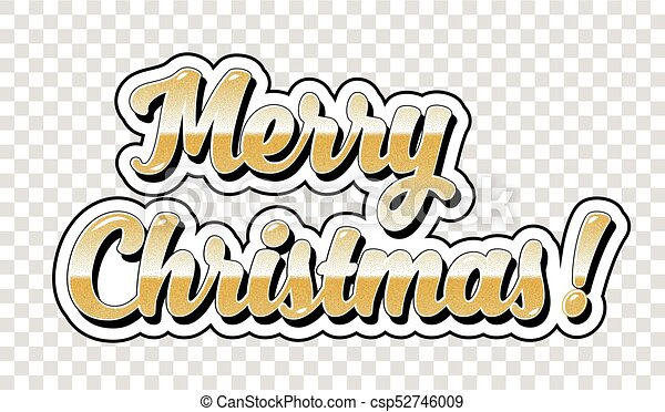 Merry Christmas No Background.Merry Christmas Sticker