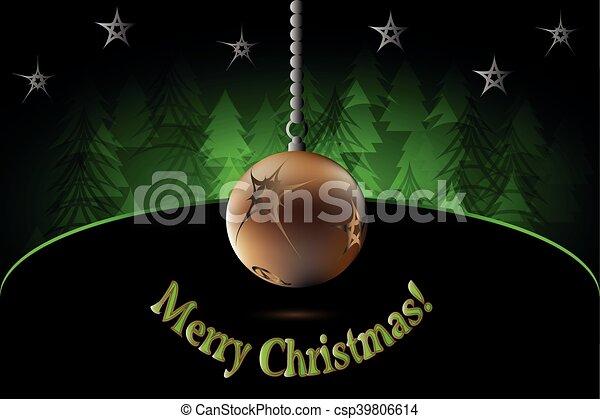 Merry Christmas! - csp39806614