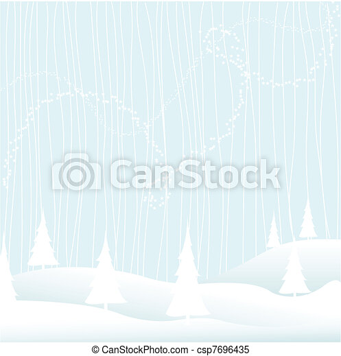 Merry Christmas - Winter - csp7696435