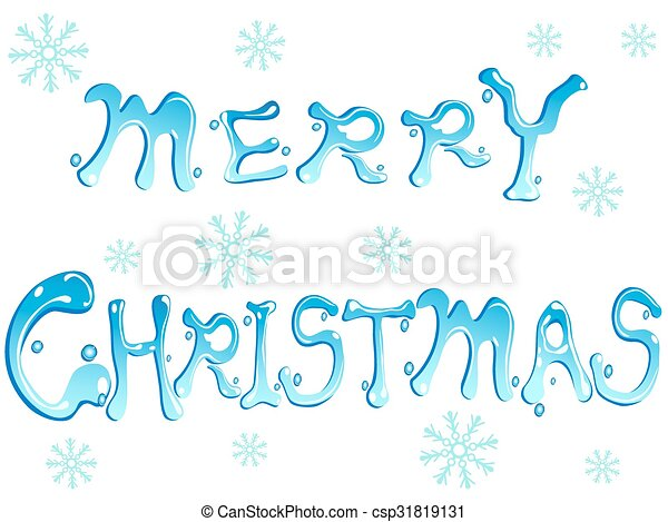 merry christmas words csp31819131 - Merry Christmas Words
