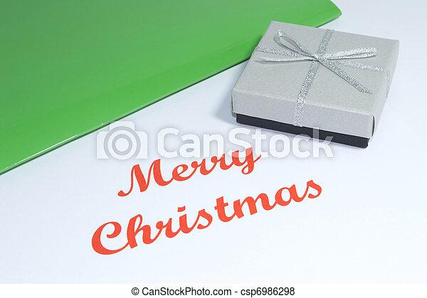 Merry Chrstmas - csp6986298