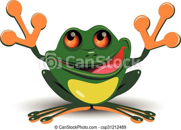 Merry frog - csp31212489