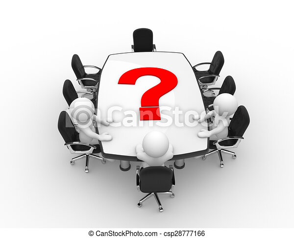 Mesa de conferencias - csp28777166