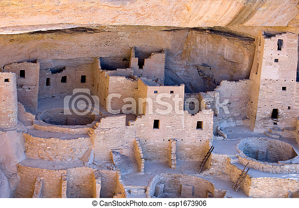 Mesa Verde Anasazi ruins - csp1673906