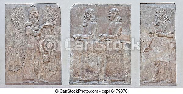 Mesopotamian Art - csp10479876
