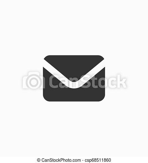 Message icon vector - csp68511860