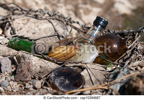 message in a bottle - csp15394687