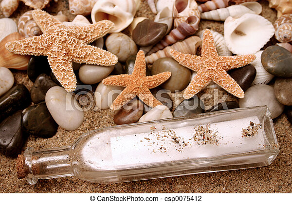 Message in a bottle - csp0075412