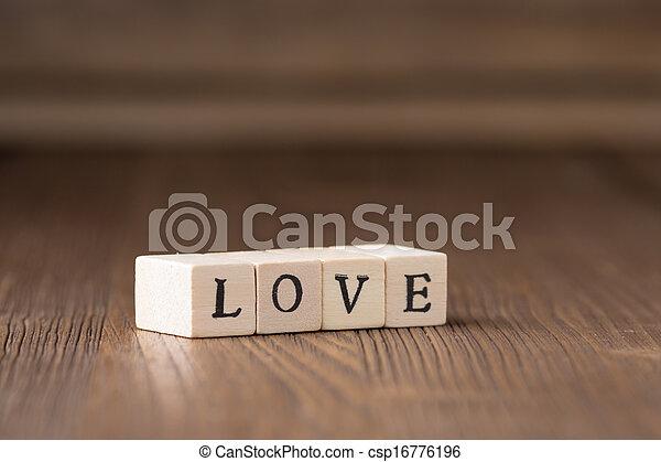 message., láska - csp16776196