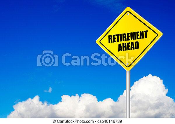 Message Retraite Route Devant Signe