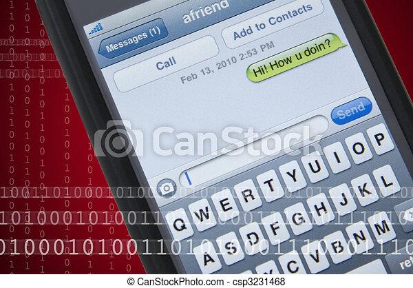 message texte - csp3231468