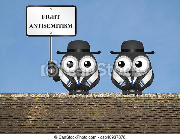 messaggio, antisemitism - csp40937878
