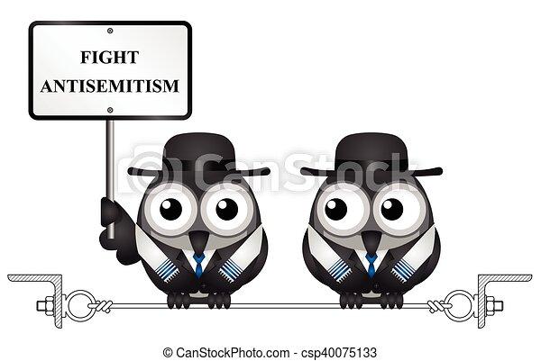 messaggio, antisemitism - csp40075133