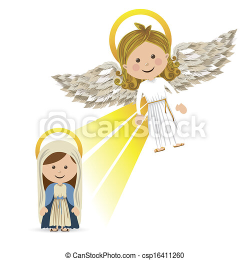 messenger angel - csp16411260