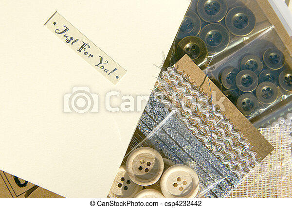 mestiere, scrapbooking - csp4232442