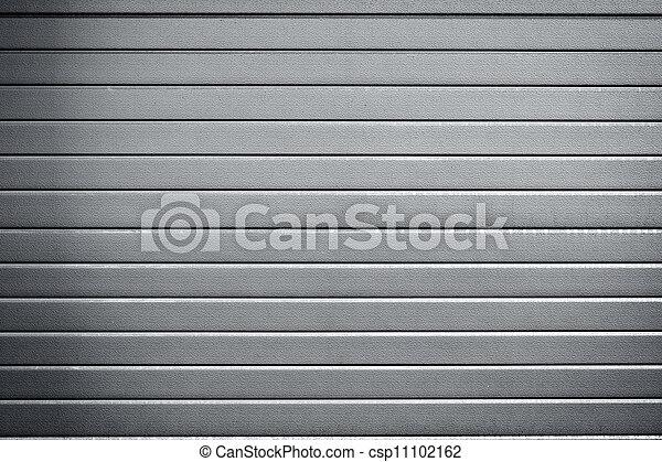 metaal, industriele deur, achtergrond - csp11102162