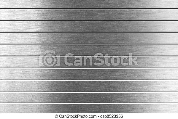 metaal, zilver, achtergrond - csp8523356