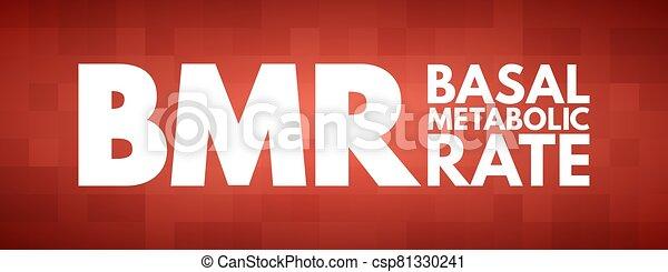 metabolic, bmr, siglas, tasa, -, basal - csp81330241