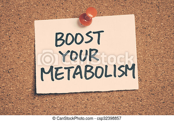 Aumente tu metabolismo - csp32398857