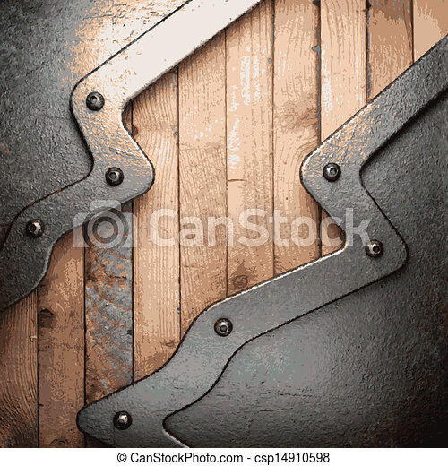 Metal And Wood Artwork Endearing Metal And Wood Background Eps Vectors  Search Clip Art Design Ideas