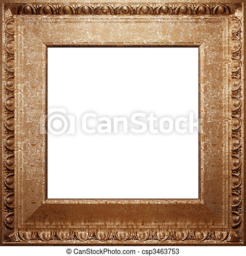 metal antique frame  - csp3463753