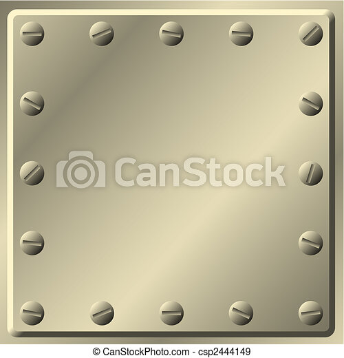 Metal Background - csp2444149