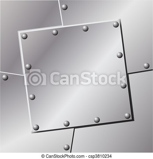 Metal Background - csp3810234