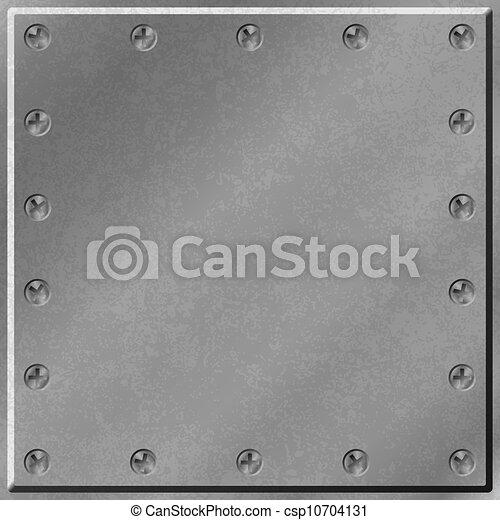 Metal Background - csp10704131