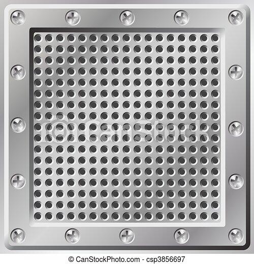 Metal Background - csp3856697