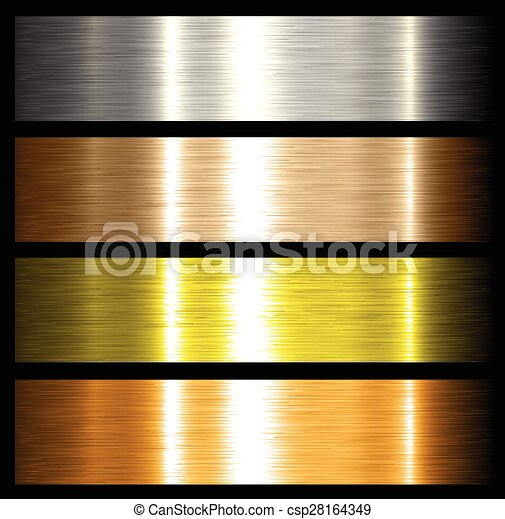 metal backgrounds - csp28164349