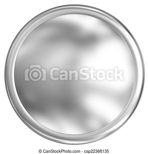 Metal button - csp22368135