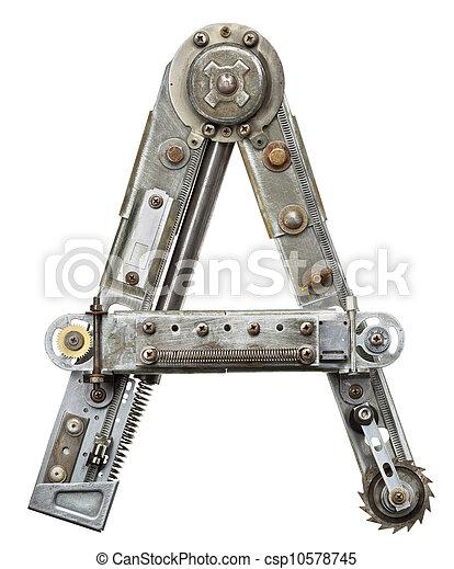metal, carta - csp10578745