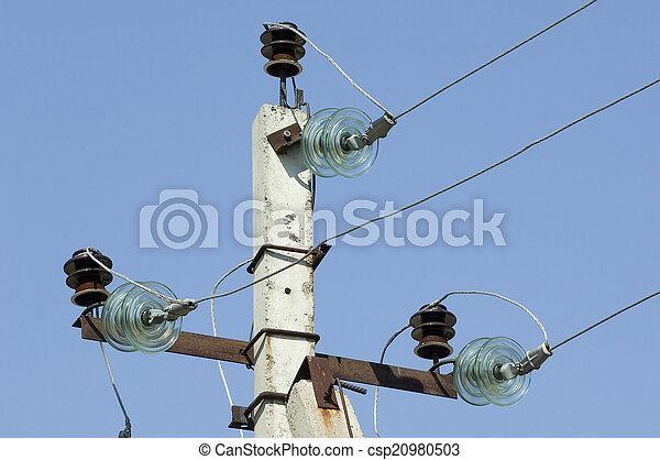 Metal electric post - csp20980503