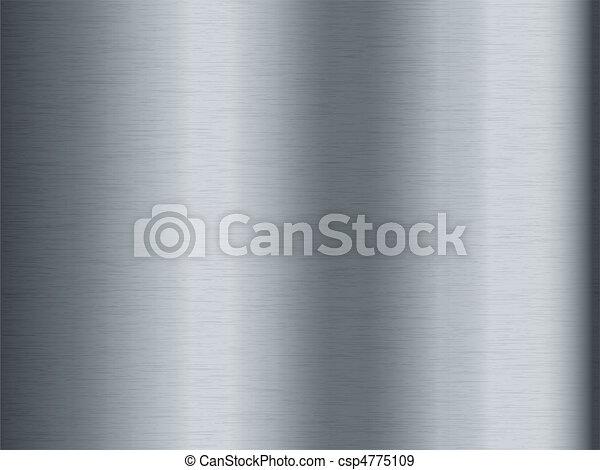 metal escovado, fundo - csp4775109