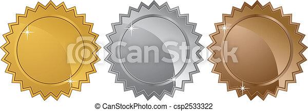Estrellas de metal - csp2533322