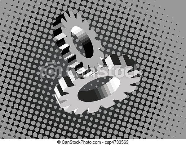 metal gears - csp4733563