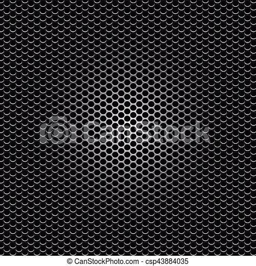 metal holes background - csp43884035