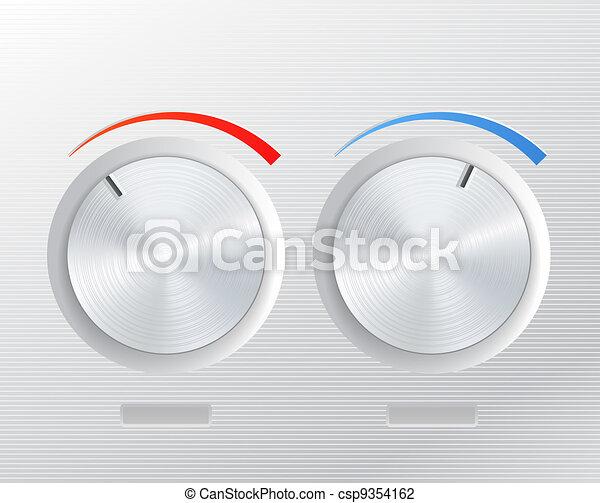 Metal knob  - csp9354162